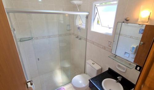 Banheiro Suíte Triplo Vista Piscina com Varanda