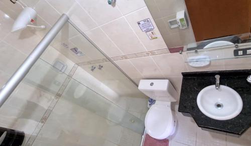 Banheiro Casal com Varanda